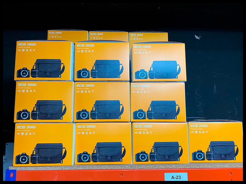 Oferta Canon EOS 2000D