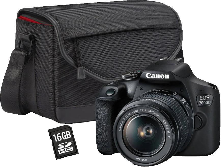 Oferta imbatible Canon eos 2000D
