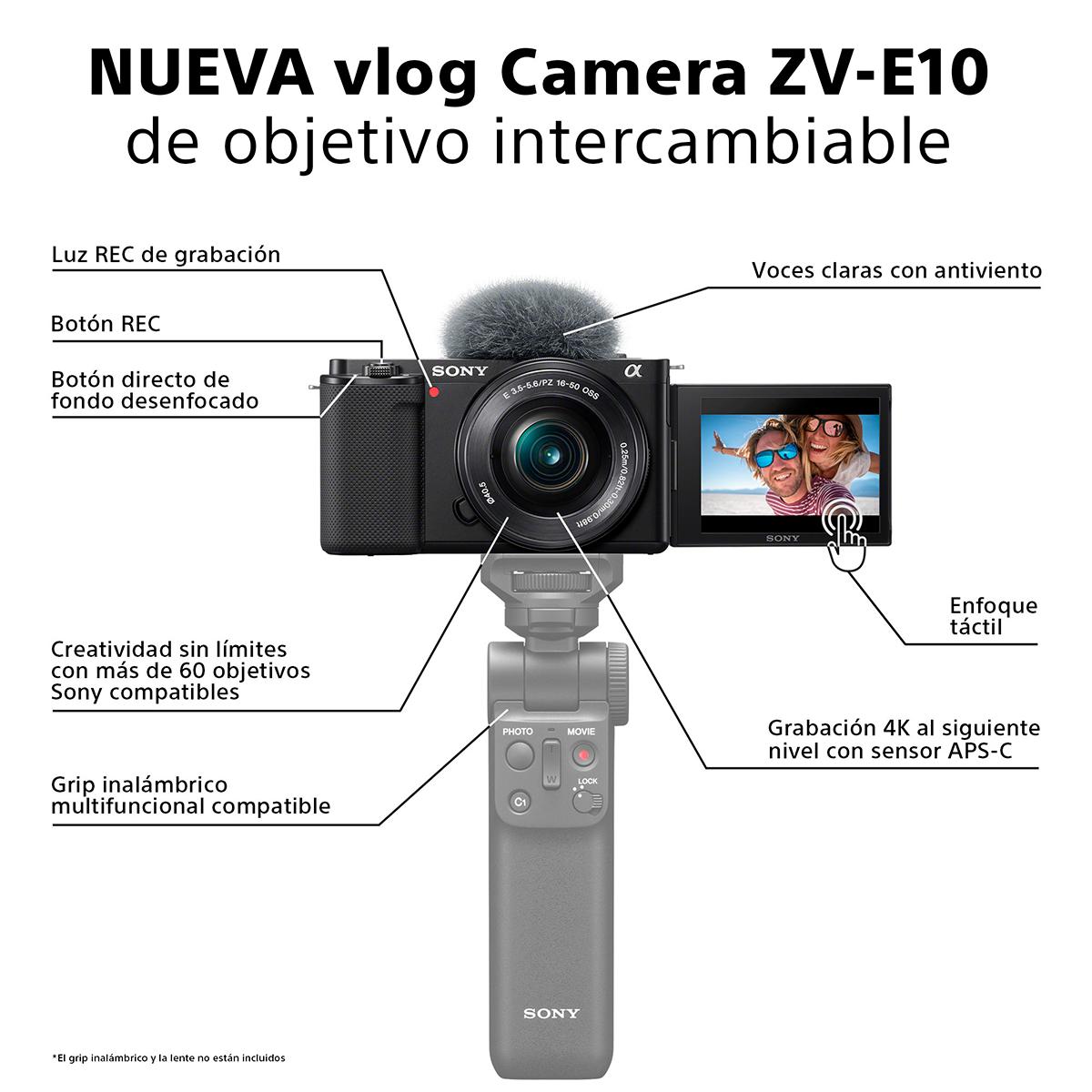 Oferta Sony ZV E10