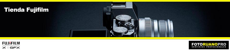 Tienda online Fujifilm - Cabecera principal
