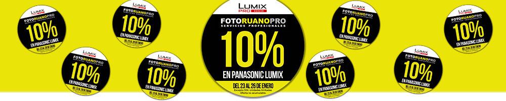 Semana Panasonic LUMIX - Descuento 10%