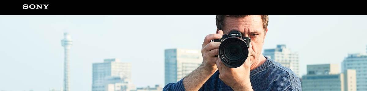 Tienda online Sony Alpha (cámaras, objetivos y accesorios)