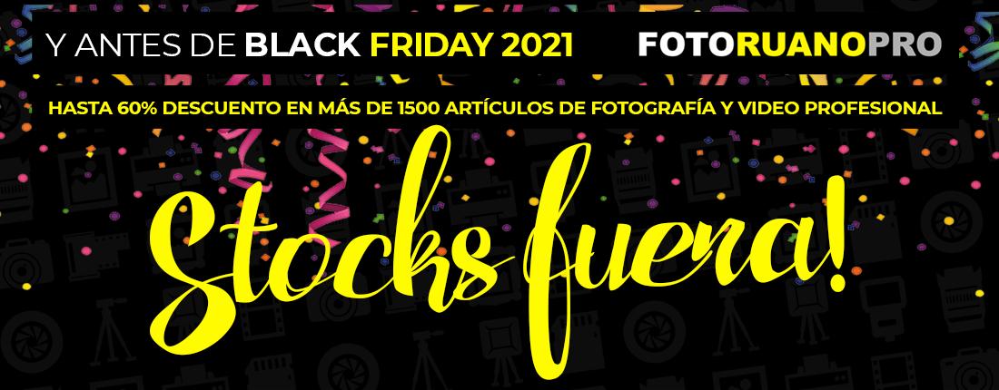 Outlet de fotografía y video. Del 15 al 29 de noviembre 2021.