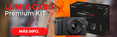 LUMIX GX80 Kit doble zoom (premium)