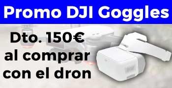 Promoción 150€ descuento DJI Goggles