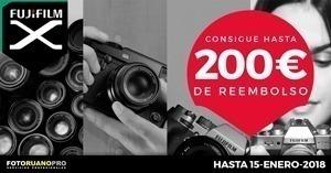 Cashback Fujifilm Invierno hasta 200€