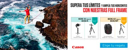Canon EOS Full frame Promo regalos