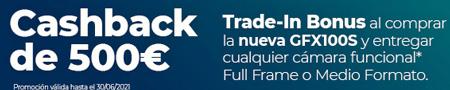 Cashback Fujifilm GFX100S: Reembolso 500€