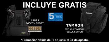 Promoción Tamron 24-70 Oferta arnés y bolsa GRATIS