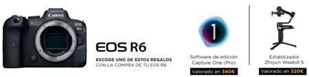 Canon EOS R6: Regalos Canon España