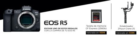 Regalos Canon EOS R5