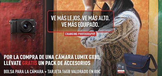 Promo Panasonic Lumix G80