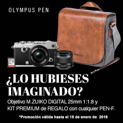 Promoción Olympus PEN-F Regalos