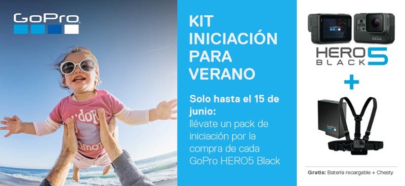 Promoción GoPro Hero5