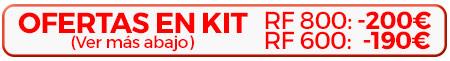 Ofertas KIT Canon R6 con RF 600 y RF800