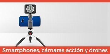 Smartphones, cámaras de acción y drones Manfrotto