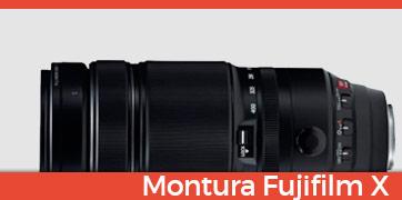 Objetivos Montura Fuji X