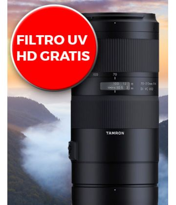 Nuevo Tamron 70-210mm Di VC USD ya disponible con filtro UV de regalo