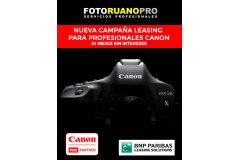 Nuevo Leasing Canon para profesionales - 24 meses sin intereses