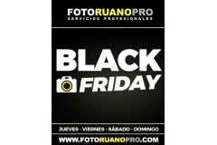 BLACK FRIDAY en Fotografía y Vídeo - Foto Ruano PRO