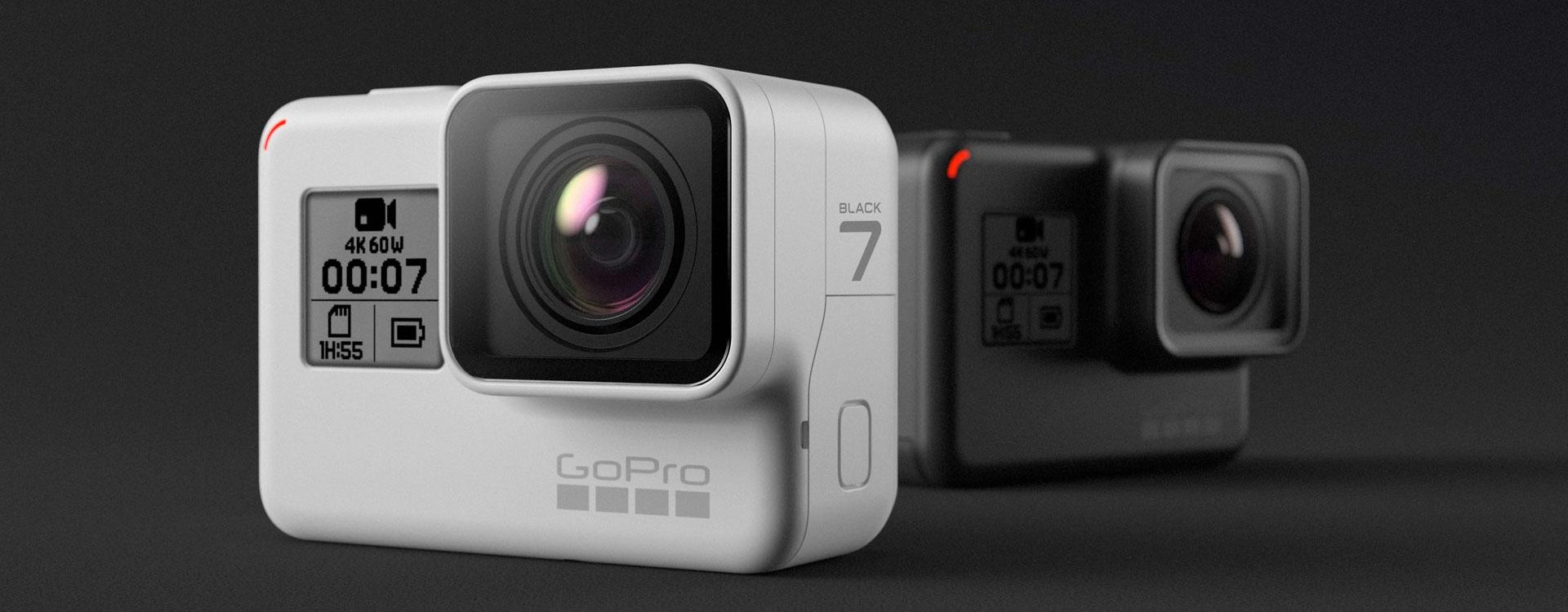 Diferencias GoPRO Hero7 Black, Silver y White comparativa